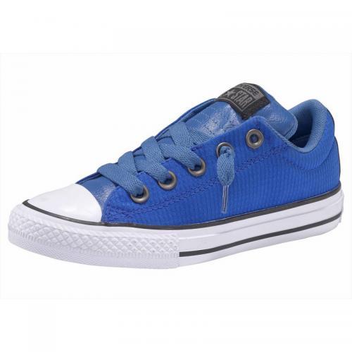 2ef6fc29dd2 Converse - Baskets basses junior Converse Chuck Taylor All Star Street-Slip  - Bleu -