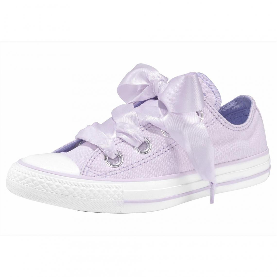 sneakers for cheap 19793 37ad9 Baskets basses femme Converse Chuck Taylor All Star Ox Big Eyelet - Lilas Converse  Femme