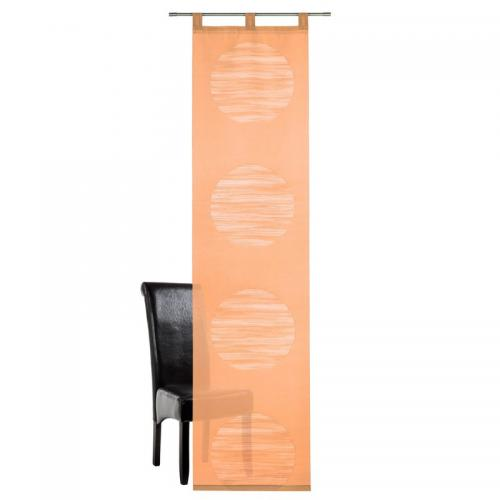 DEKO TRENDS - Panneau japonais semi-transparent finition pattes Deko Trends - Orange - Stores