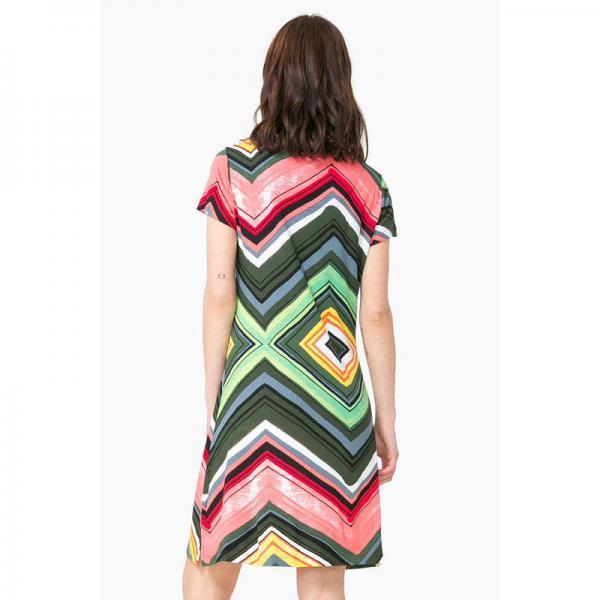 Robe Courte Femme Desigual Multicolore 3 Suisses