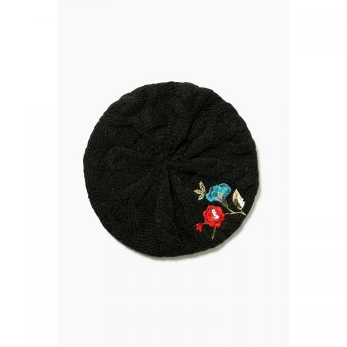 d4dbf64486 Desigual - Béret fantaisie femme Desigual - Noir - Bonnet / Chapeau / Gants