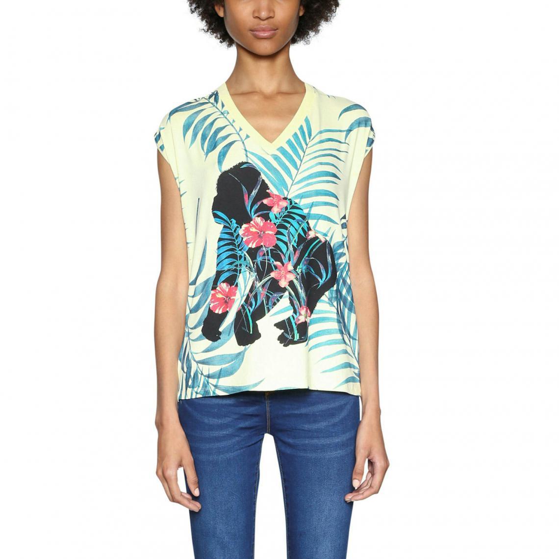 Tee-shirt manches courtes femme Desigual