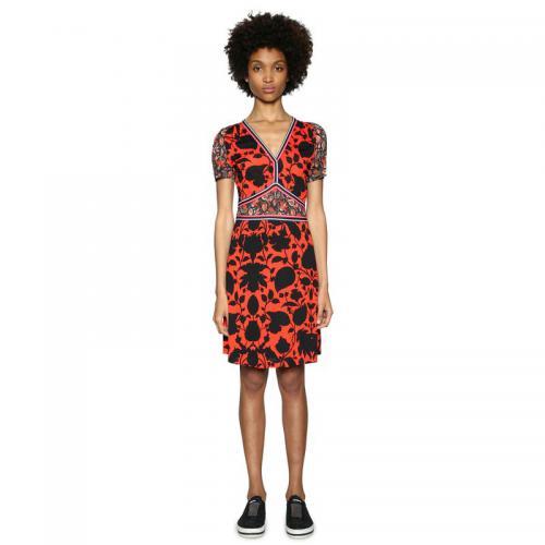 Desigual - Robe courte imprimée femme Desigual - Rouge - Desigual cebb2746649d