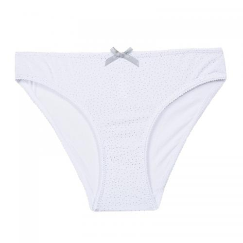 Dim - Culotte Shines fille Dim - Blanc - Slips, Culottes, Boxers fille