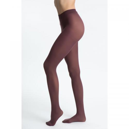 Dim - Collant opaque velouté femme Dim - Marron - Bas et collants