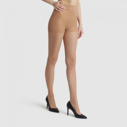 Dim - Lot de 2 collants Beauty Resist transparent femme Dim - Beige - Toute la lingerie femme