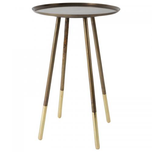 Dutchbone - Guéridon rond Eliot Dutchbone - METAL - Tables basses