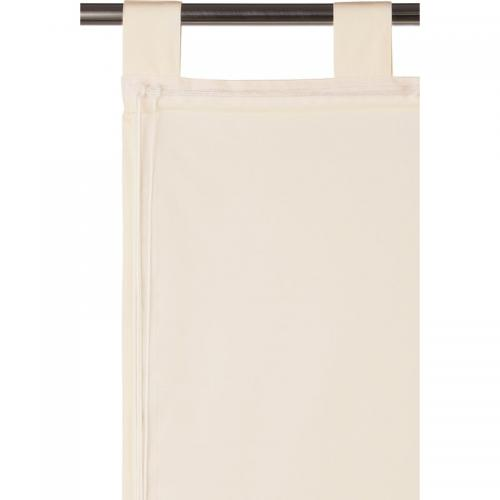 Ecorepublic - Store opaque finition pattes Salou Ecorepublic Home - Beige - Stores
