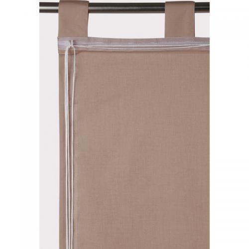 Ecorepublic - Store opaque finition pattes Salou Ecorepublic Home - Beige - Linge de maison