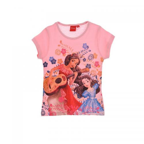 Elena d'Avalor - Tee-shirt manches courtes fille Elena d'Avalor - Rose - T-shirt / Débardeur