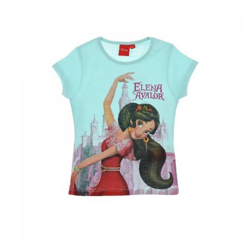 Elena d'Avalor - Tee-shirt manches courtes fille Elena d'Avalor - Bleu - Vêtements fille