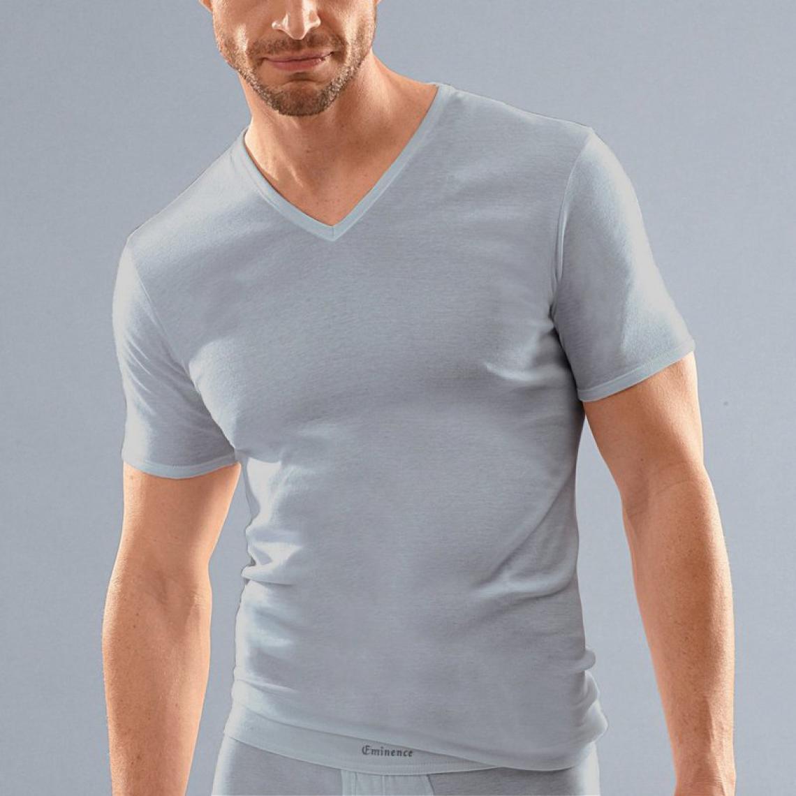 Lot Bleu3 2 Homme Suisses T V Col De Coton Shirts Éminence nN0m8w