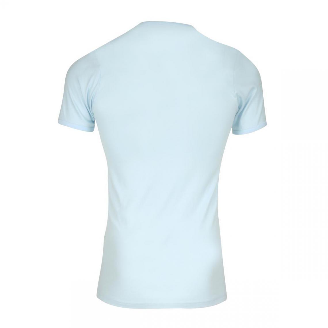 Lot de 2 T shirts col rond coton homme Éminence Bleu Ciel 6 Avis Plus de détails