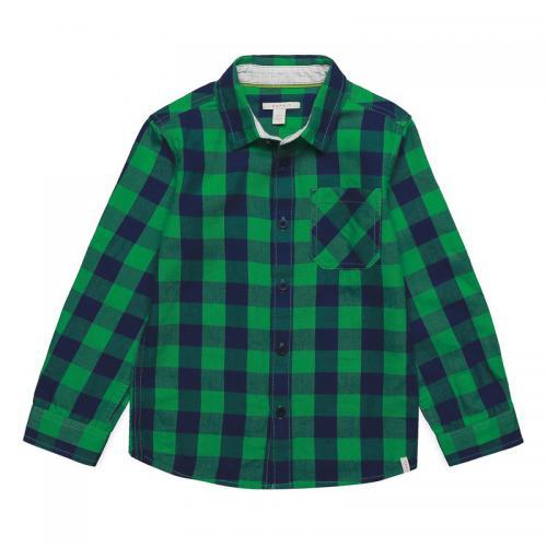 4408c558d9213 Esprit - Chemise à carreaux manches longues garçon Esprit - Vert - Chemise