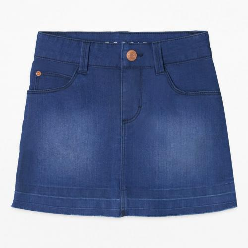 325bf3fff2bb5e Jupe en jean fille Esprit - Bleu