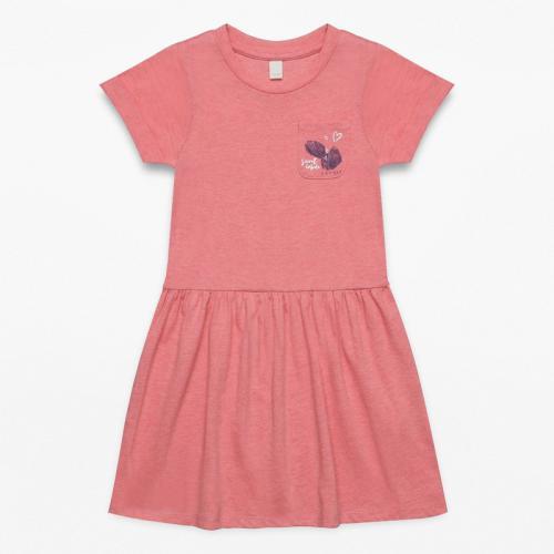 Esprit - Robe courte Fille Esprit - Orange - Robes fille 15c62d196ba