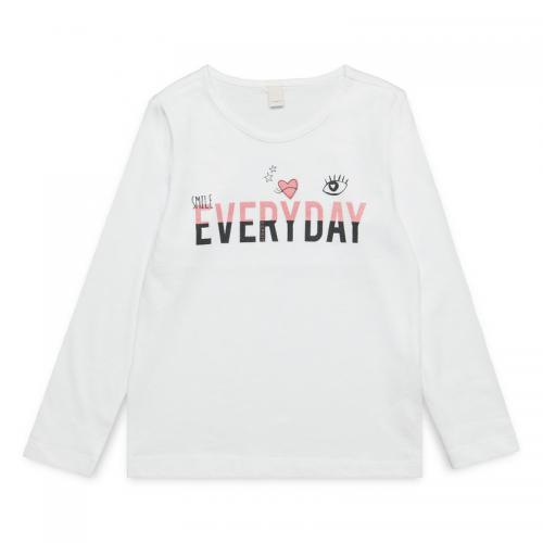 8350d7569182c Esprit - Tee-shirt manches longues Fille Esprit - Blanc - T-shirt