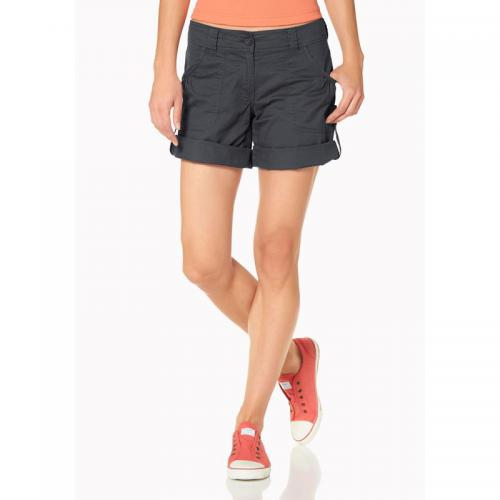 Flashlights - Short bermuda retroussable femme Flashlights - Gris - Shorts, bermudas femme
