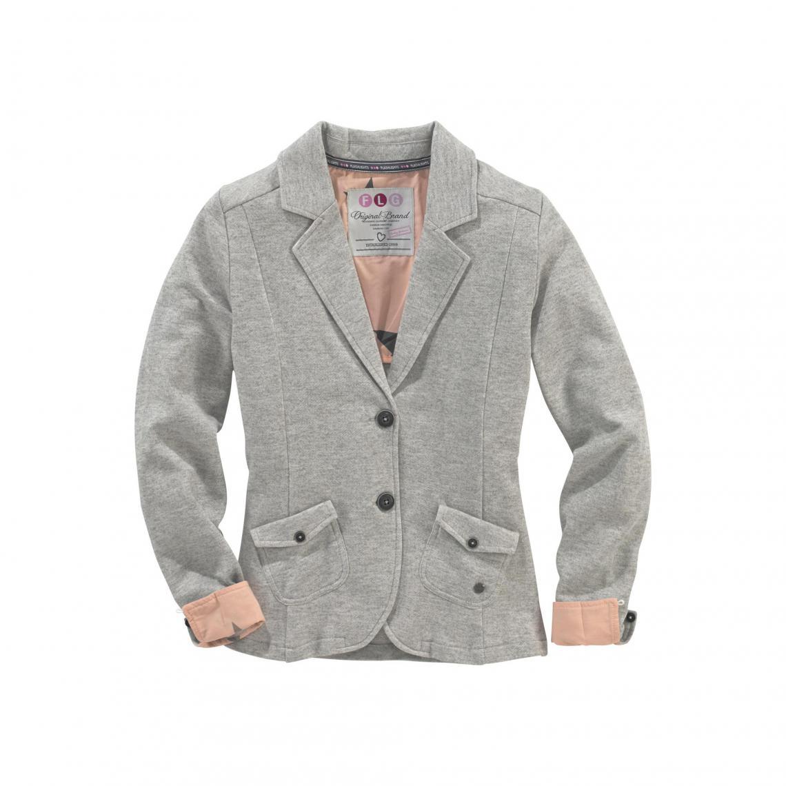 veste blazer gris femme les 3 suisses