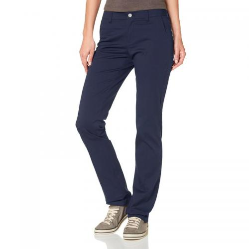 Flashlights - Pantalon en coton stretch à plis Flashlights « pantalon » - Bleu - Promos Femme