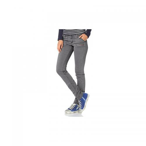 Flashlights - Pantalon cigarette femme Flashlights - Gris - Flashlights