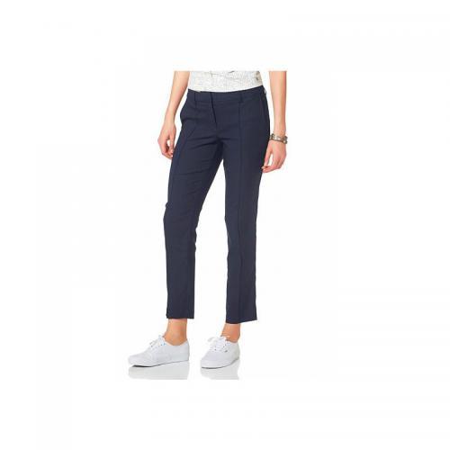 69085e62de032 Flashlights - Pantalon cigarette Flashlight femme - Bleu - Pantalon droit