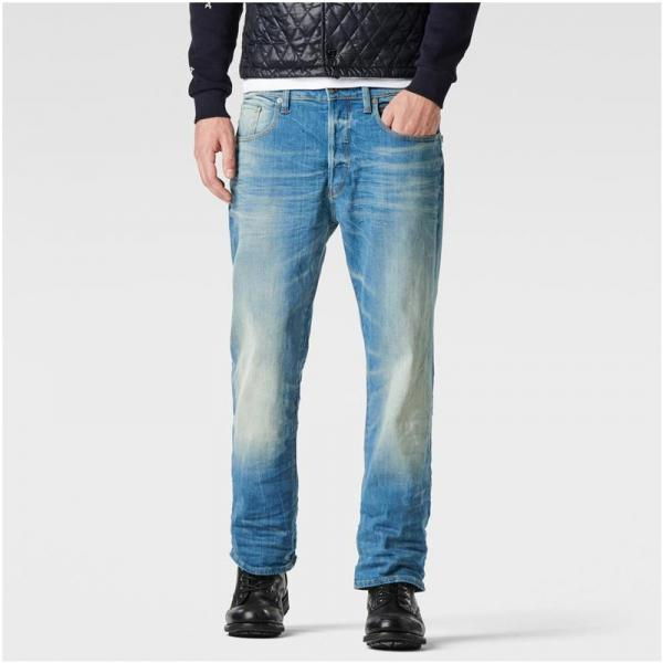 Jean coupe loose G-Star 3301 Loose L34 - Bleu G-Star RAW Homme