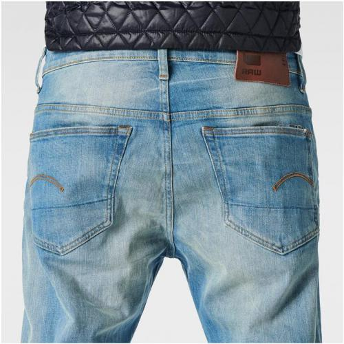 Jean coupe loose G-Star 3301 Loose L34 - Bleu G-Star RAW