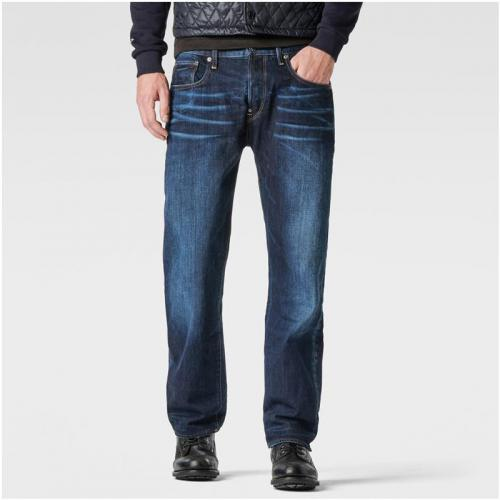 G-Star RAW - Jean coupe loose fit L32 homme G-Star Defend Loose - Bleu - Vêtements homme