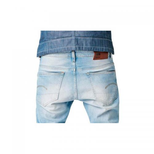 Jean G-Star Raw 3301 Tapered coton homme longueur US34 - Bleu G-Star RAW
