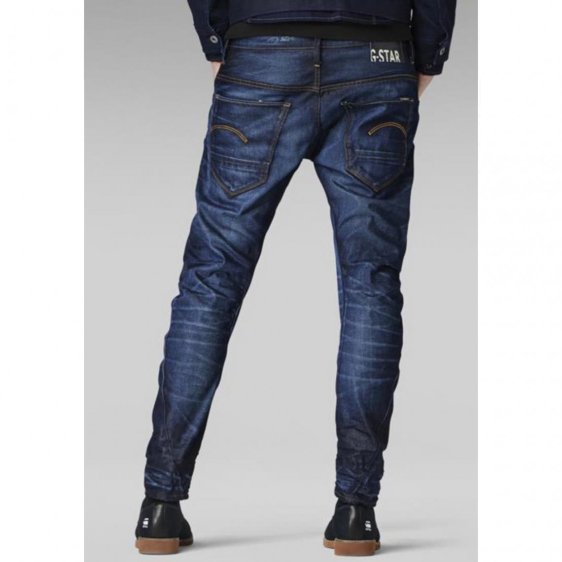 3suisses Usé 3d Star Bleu Slim Arc Used Jean G Foncé Homme 6qvFSS
