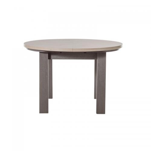 table ronde avec allonge 4 6 personnes toscane gami d cor ch ne baroque 3suisses. Black Bedroom Furniture Sets. Home Design Ideas