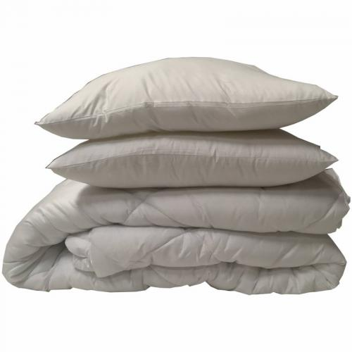 Greenbed - Lot de 2 oreillers synthétiques Suprafill GREENBED enveloppe microfibre - Blanc - Oreillers, traversins