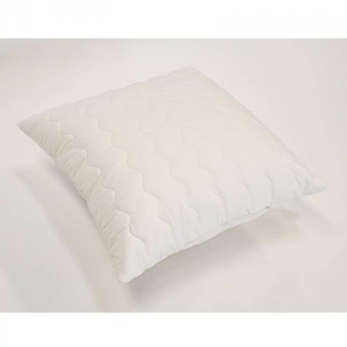 Greenbed - Oreiller synthétique BioFlor GREENBED enveloppe percale - Blanc - Oreillers, traversins