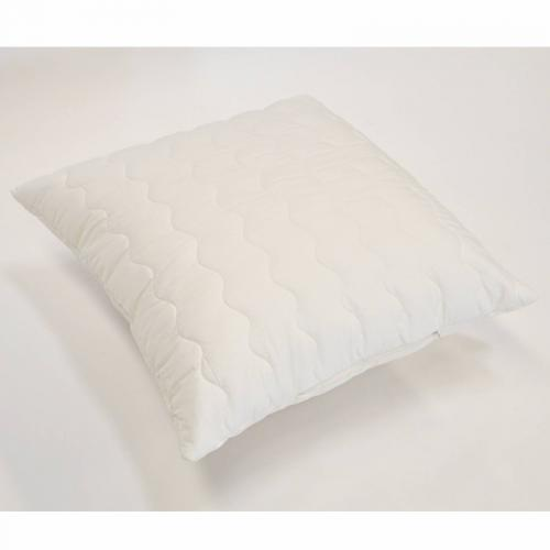 Greenbed - Lot de 2 oreillers synthétiques BioFlor GREENBED enveloppe percale - Blanc - Oreillers, traversins