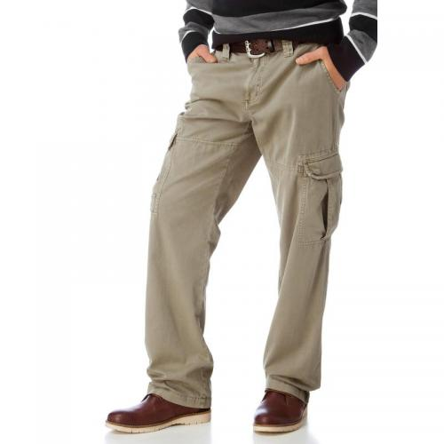 Grey Connection - Pantalon cargo, Grey Connection - Beige - Promos vêtements homme