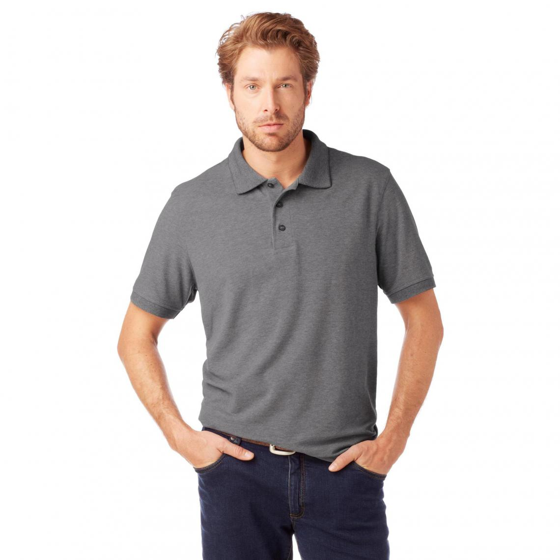 Manches Homme Gris3 Grey Maille Polo Piquée Connection Courtes rBWCdxoe