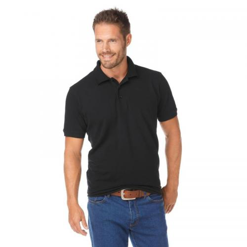 Grey Connection - Polo manches courtes maille piquée homme Grey Connection - Noir - T-shirt / Polo