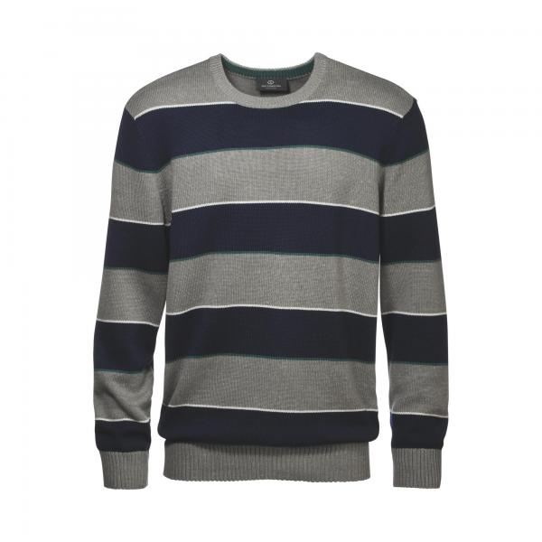 Pull rayé col rond fine maille homme Grey Connection Grey Connection
