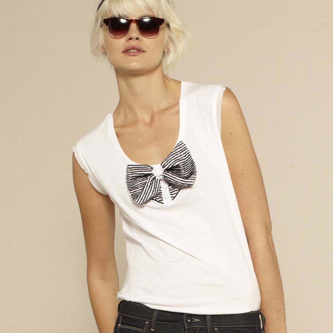 T shirt Encolure ronde Sans manches Guess | 3 SUISSES