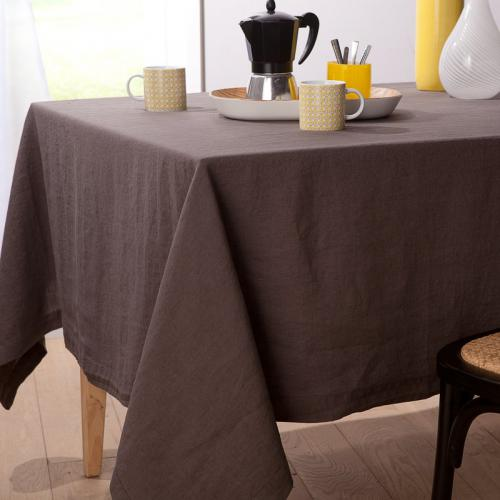 Harmony - Nappe pur lin lavé stone washed Naïs HARMONY - Gris - Toutes Les Promos