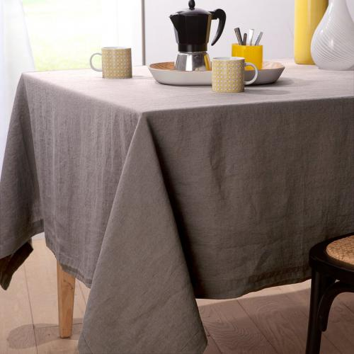 Harmony - Nappe pur lin lavé stone washed Naïs HARMONY - Beige - Toutes Les Promos