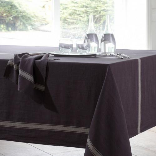 Harmony - Nappe pur lin lavé stone washed Vivario Harmony - Violet - Promotions