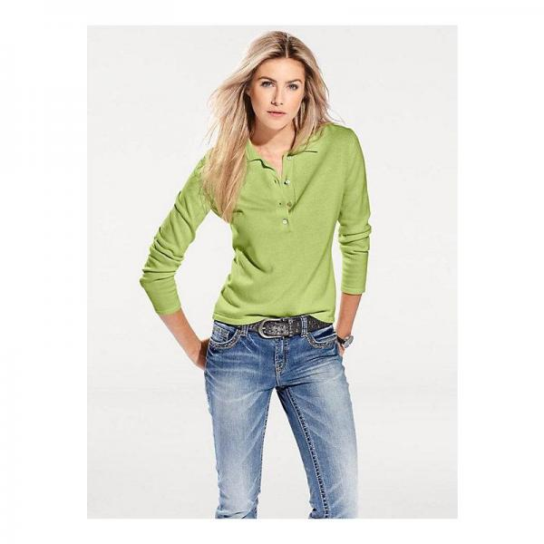 Pull Polo Suisses Vert3 Helline Femme Coupe ZXkN0w8nOP