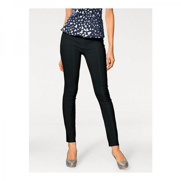 Pantalon slim amincissant femme Helline - Noir Helline Femme ce137590566b