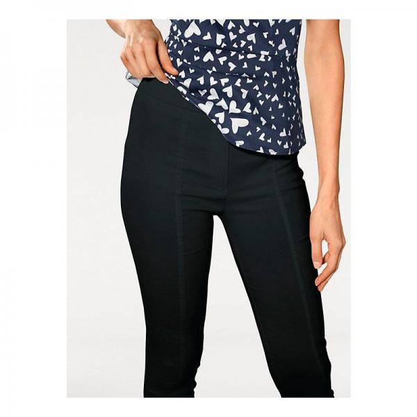 Leggings, treggings femme Helline Cliquez l image pour l agrandir. Pantalon  slim amincissant femme Helline - Noir Helline 85dbf574c209