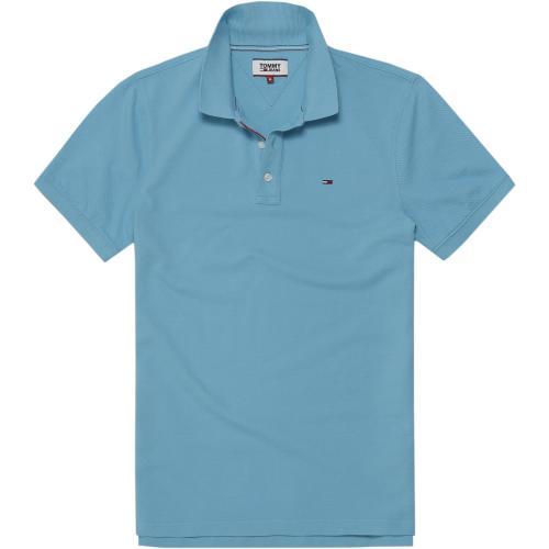 Hilfiger Denim - Polo manches courtes homme Tommy Hilfiger - Bleu -  Vêtements homme 8540b6ae74ea