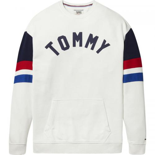 Hilfiger Denim - Sweat col rond homme Hilfiger Denim - Blanc - Vêtements homme