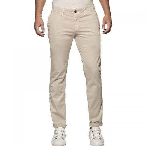 Hilfiger Denim - Chino homme Hilfiger Denim - Blanc - Pantalon