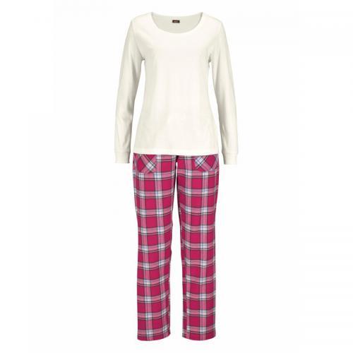 057b8893b7e2a H.I.S - Pyjama écossais H.I.S femme - Beige - Ensembles et pyjamas